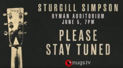 youtube_SturgillSimpson_LiveAtRymanAuditorium_NashvilleTN